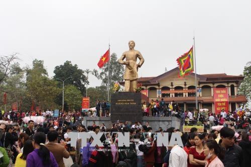Hàng vạn du khách dự Lễ hội kỷ niệm 134 năm Khởi nghĩa Yên Thế