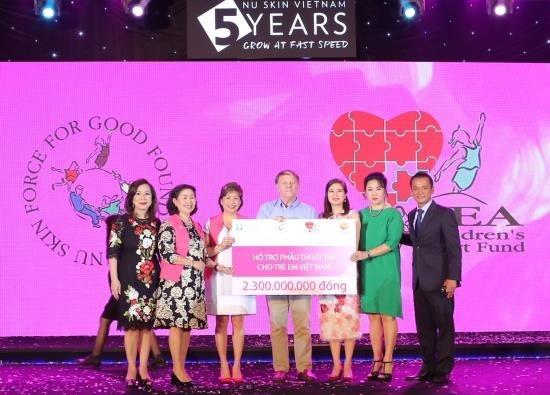 Nu Skin kỷ niệm 5 năm hoạt động tại Việt Nam