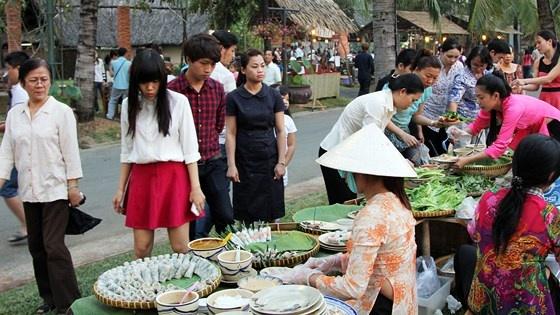 TPHCM: Lễ hội âm thực 'Ngày hội quê tôi'- tinh hoa ẩm thực Việt
