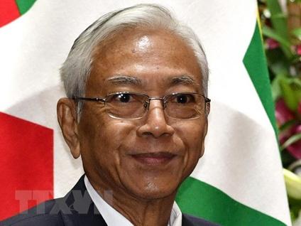 Tổng thống Myanmar Htin Kyaw từ chức