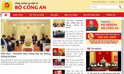Dự thảo phát ngôn và cung cấp thông tin cho báo chí của CAND