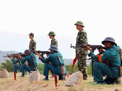 Đề xuất tuyển sinh đào tạo cán bộ ngành quân sự cơ sở