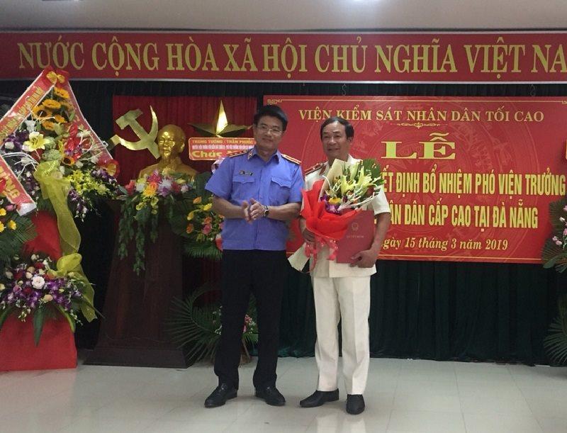 Bổ nhiệm Phó Viện trưởng Viện Kiểm sát nhân dân cấp cao Đà Nẵng