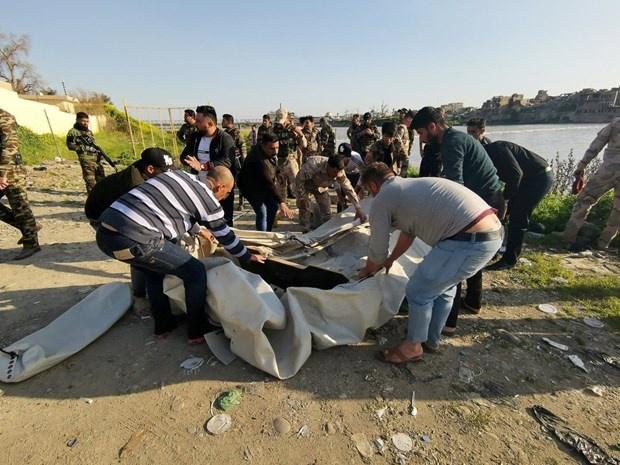 Chìm phà ở Iraq: Gần 100 người thiệt mạng