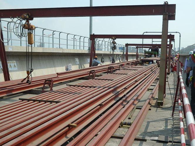 TPHCM tạm ứng gần 2.160 tỷ đồng cho tuyến metro số 1