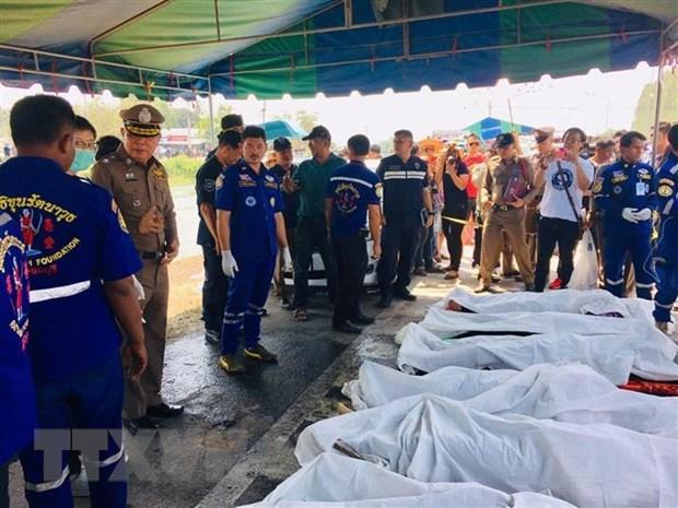 Đại sứ quán hỗ trợ đưa thi thể lao động Việt Nam tử nạn ở Thái Lan về nước