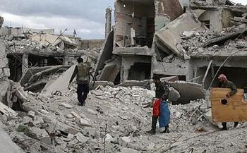 is chay khoi thu do syria sau con mua hoa luc