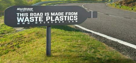 Lần đầu tiên Việt Nam làm đường từ rác thải nhựa
