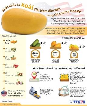 infographics xuat khau lo xoai viet nam dau tien sang thi truong my