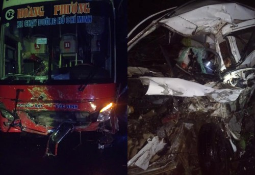 Hòa Bình: Tai nạn giao thông khiến 2 người tử vong tại chỗ