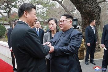 nha lanh dao trieu tien kim jong un bi mat bay toi dai lien gap chu tich trung quoc tap can binh
