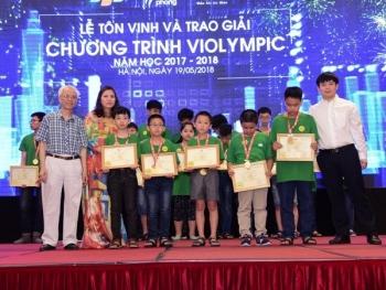 hon 2000 hoc sinh dat giai thi violympic nam hoc 2017 2018