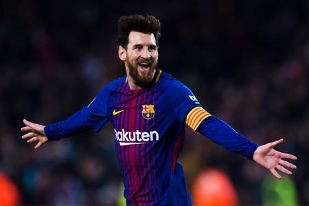 Messi lần thứ 5 đạt danh hiệu 'Chiếc giày vàng châu Âu'