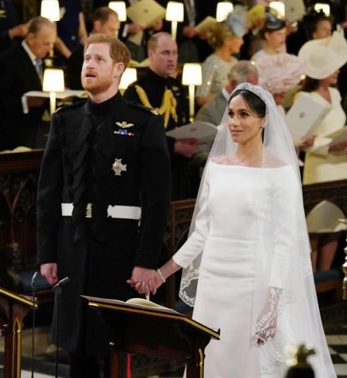 Toàn cảnh hôn lễ của Hoàng tử Harry và nữ diễn viên người MỹMeghan Markle