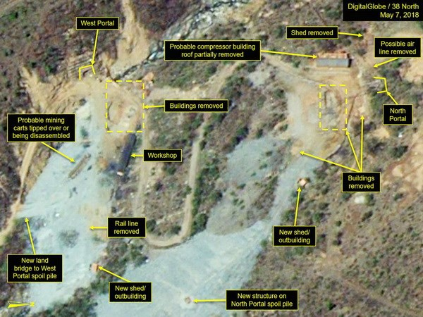 Triều Tiên dỡ bỏ bãi thử hạt nhân, 20 nhà báo nước ngoài sẽ đến đưa tin