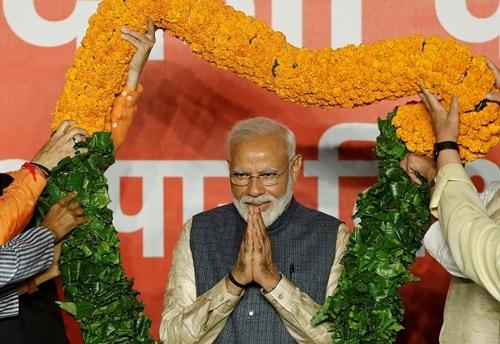 Thủ tướng Ấn Độ Modi giành chiến thắng lịch sử