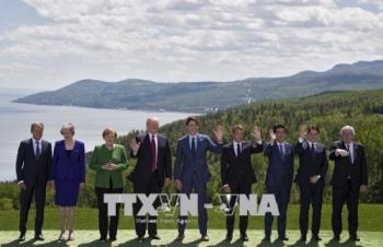 hoi nghi g7 ra tuyen bo chung