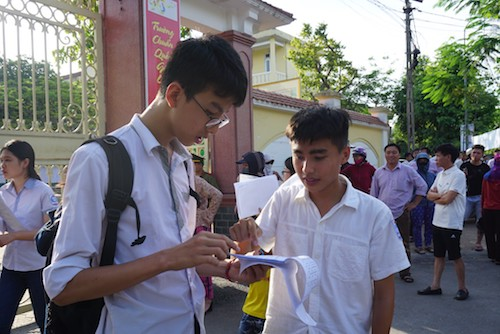 Nghệ An có thí sinh đạt điểm 10 bài thi tổ hợp