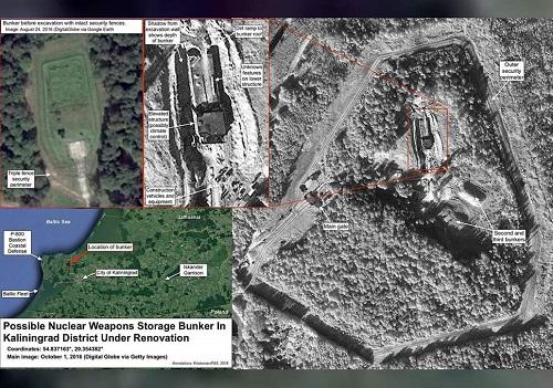 Nga nâng cấp căn hầm bí mật chứa vũ khí hạt nhân ở gần biên giới Ba Lan?