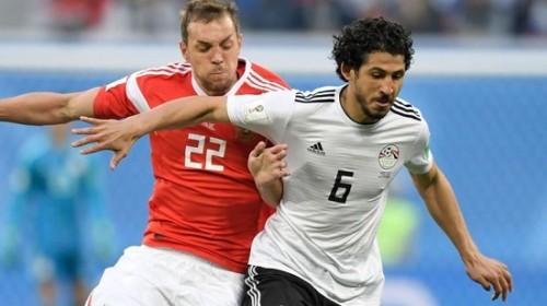 Ai Cập nhận thất bại trước tuyển Nga với tỷ số 1-3