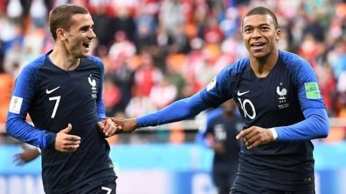 Pháp đánh bại Peru với tỷ số 1-0 nhờ bàn thắng của Mbappe
