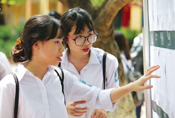 ở GD ĐT Hà Nội đã công bố điểm thi vào lớp 10 năm học 2018-2019