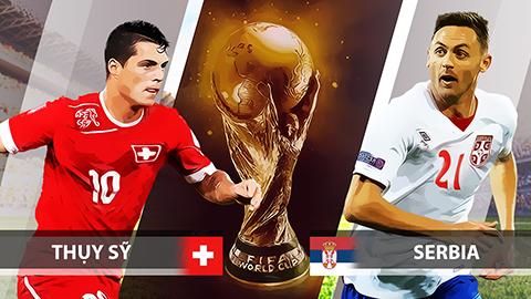Lịch thi đấu World Cup 2018 ngày 23/6