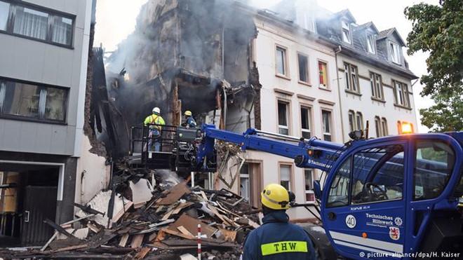 Ít nhất 25 người bị thương trong vụ nổ giữa đêm ở Wuppertalm, Đức