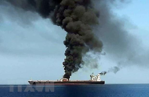 Nhật Bản đề nghị Mỹ đưa ra bằng chứng rõ ràng về 'sự cố Vịnh Oman'