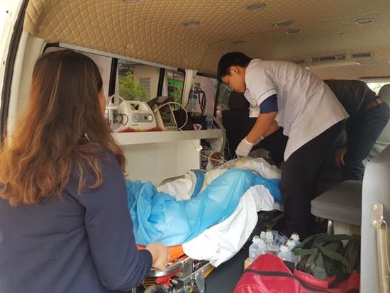 3 nạn nhân bỏng nặng trong vụ nổ ở Cam Ranh đã được chuyển đi TP.HCM