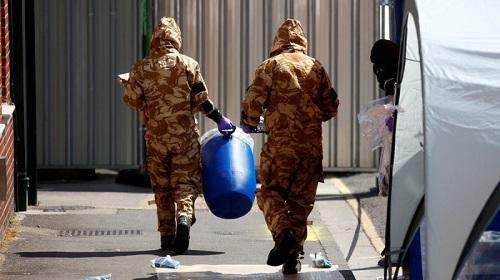 Cảnh sát Anh thông báo đã tìm thấy lọ đựng chất độc thần kinh Novichok
