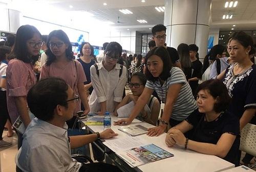 Hôm nay diễn ra ngày hội tư vấn xét tuyển năm 2018 ở Hà Nội