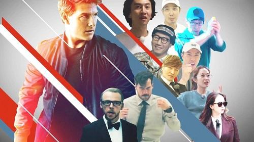 """Tom Cruise cùng dàn diễn viên 'Nhiệm vụ bất khả thi' tham gia """"Running Man"""""""