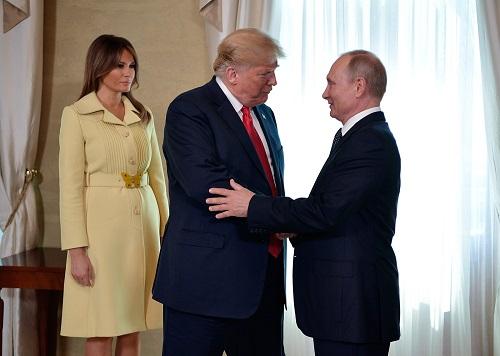 Những hình ảnh đầu tiên về hội nghị thượng đỉnh Mỹ - Nga