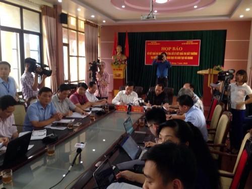 Người nhờ sửa điểm trong vụ gian lận ở kỳ thi THPT Quốc gia tại Hà Giang có thể bị phạt 20 năm tù