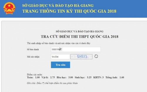 Thí sinh từng đứng top ở Hà Giang bị 'điểm liệt' trượt tốt nghiệp THPT sau khi chấm thẩm định