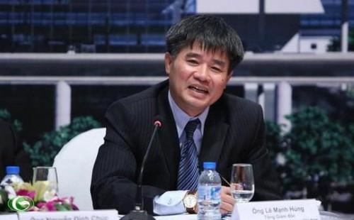 Ông Lê Mạnh Hùng thôi chức vụ thành viên Hội đồng quản trị Tổng công ty Cảng hàng không Việt Nam