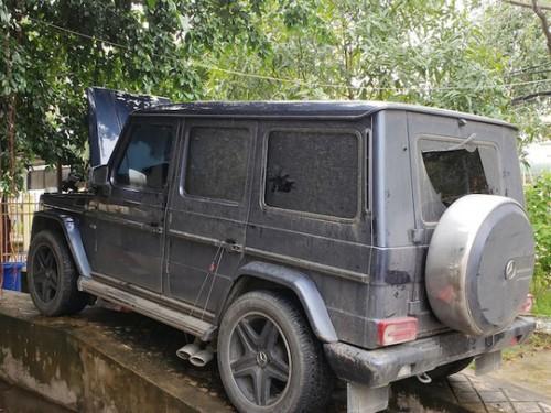 Chủ xe Mercedes-Benz G55 gắn biển số giả quân đội ở Cần Thơ thừa nhận dùng biển đỏ để chạy cho oai