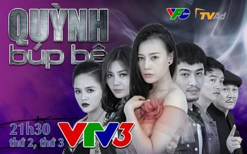 Phim Quỳnh búp bê quay trở lại trên sóng VTV3 từ ngày 3/9