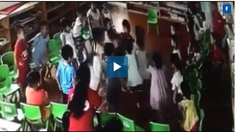 Vụ video ghi cảnh trẻ mầm non bị bạn 'đánh hội đồng': Đuổi việc 3 cô giáo
