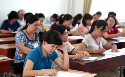 148 thí sinh thi tuyển giáo viên ở Quảng Ngãi thay đổi kết quả sau 3 tháng thẩm định