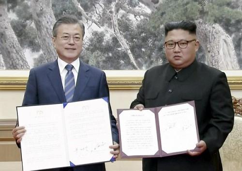 """Nhà lãnh đạo Triều Tiên đồng ý cho phép các chuyên gia quốc tế tới giám sát việc """"dỡ bỏ vĩnh viễn"""" các cơ sở tên lửa hạt nhân quan trọng"""