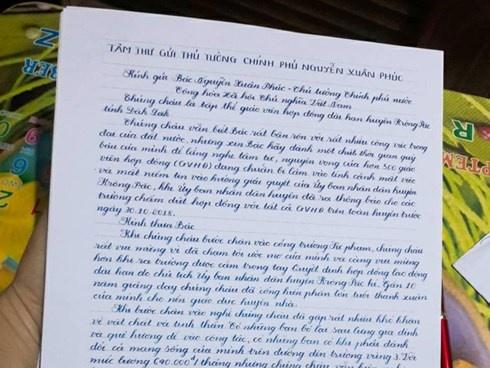 Đắk Lắk: Tập thể giáo viên bị chấm dứt hợp đồng gửi tâm thư đến Thủ tướng