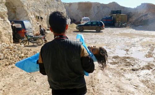 Syria: Lộ đoạn phim nghi dàn dựng tấn công hóa học ở Idlib