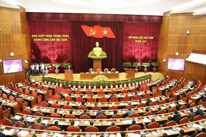 Ngày làm việc đầu tiên Hội nghị lần thứ tám Ban Chấp hành TW Đảng