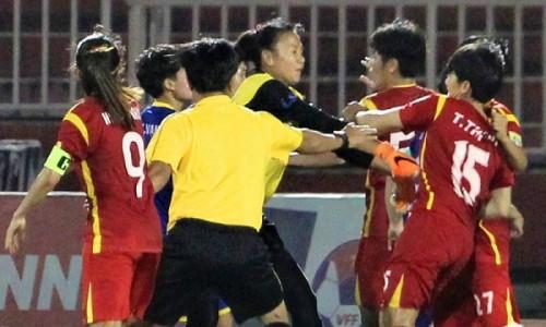 Vụ 2 đội tuyển bóng đá nữ ẩu đả trong trận bán kết: VFF nói gì?