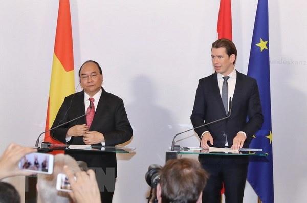 Toàn văn Tuyên bố chung Việt Nam-Áo
