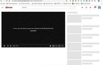 youtube khoi phuc truy cap nhung van chua ro nguyen nhan sap mang