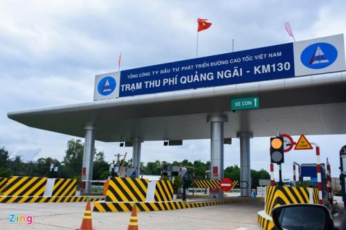 VEC đề nghị thu phí trở lại đối với đường cao tốc Đà Nẵng - Quảng Ngãi