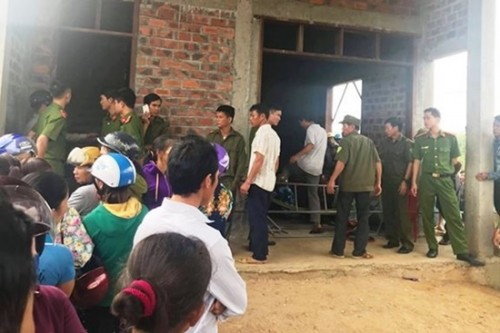 Phát hiện 4 người trong một gia đình ở Hà Tĩnh tử vong trong tư thế treo cổ